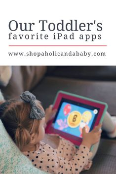 Toddler's Favorite iPad Apps