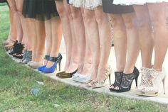 shoe themed bridal shower