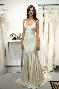 sleek and sexy gown by Sarah Janks