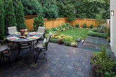 Small Backyard Landscape Easy ~ http://makerland.org/small-backyard-landscape-designs/