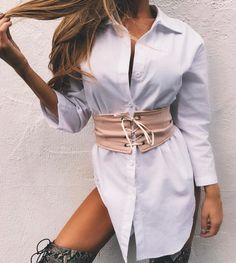 "2,363 Likes, 13 Comments - Tiger Mist (@tigermist) on Instagram: ""Trending / shit & belt combo. new today 'Texas Belted' dress. Buy now Pay later with our After…"""