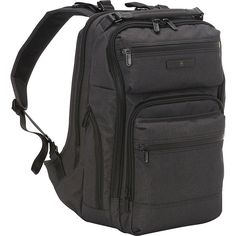 Victorinox Architecture Urban Rath - Grey - Laptop Backpacks (4,275 MXN) ❤ liked on Polyvore featuring accessories, tech accessories, grey and victorinox swiss army