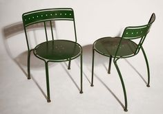 Palais Royal chairs by Jean-Michel Wilmotte