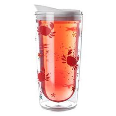 Learn more about Crabby Double Walled Acrylic Tumbler. Get all the information you need about Crabby Double Walled Acrylic Tumbler at DAVIDsTea Davids Tea, Acrylic Tumblers, Pint Glass, Mugs, Tableware, Protein, Rooms, Business, Kitchens