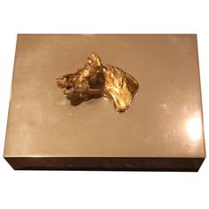 // Hermes Horse Head Card Box