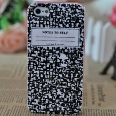 Kate Spade case for iphone 5 Composition Notebook