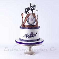 Dressage theme cake #enchantingmerchantco #sweetmagazine