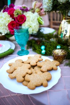 """Host a Holiday Cookie Exchange + a Bridal Luncheon to Say """"Thank You for Being My Bridesmaid"""""""