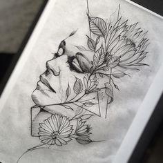 Study #electricink @inkonik_tattoo_studio