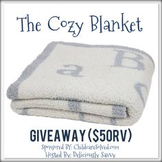 The Cozy Blanket #Giveaway from ChildcareSolved.com! - Heartbeats~ Soul Stains