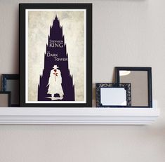 The Dark Tower  Stephen King Inspired  Movie Art by FADEGrafix, $14.95. I need/am getting this in an 18x24.