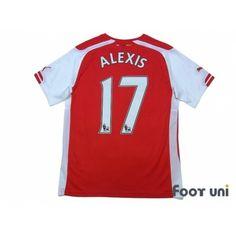 4812f7fde Arsenal 2014-2015 Home Shirt  17 Alexis Sanchez  arsenal  arsenal2014   arsenal2015