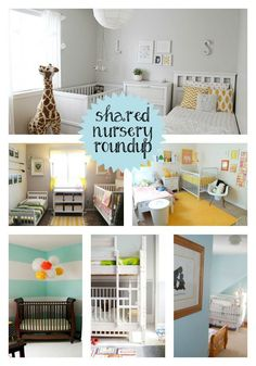 Shared Nursery and Toddler Room Roundup