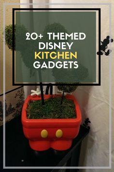 20+ Beautiful Themed Disney Kitchen Gatgets #disneykitchengatgets Rustic Kitchen, Kitchen Decor, Disney Kitchen, Kitchen Gadgets, Planter Pots, Garden, Beautiful, Kitchen Rustic, Garten