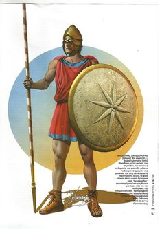 Macedonian Sarissa men 3rd Century B.C.