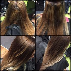 Before and after color correction today! This poor girl has tried to get an ombré THREE times elsewhere! Tonight we got her what she was looking for! @drewhyder #hair #haircolor #hairstyle #ombre #balayageombre #beforeandafter #paulmitchell #splathairdesign #paulmitchellfocussalon #iheartpm #lifeofahairstylist #blondehair #dpl #pmshines #thecolor #shinesxg #inkworks #thecolorxg #behindthechair #btcpics #modernsalon #angelofcolour #anthonythebarber916 #jaymcfly #olaplex  #olaplexobsessed…