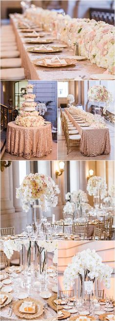 glamorous wedding reception - An incredible luxury San Francisco wedding that will take your breath away. Take a look at all the details captured by Blueberry Photography Mod Wedding, Dream Wedding, Wedding Day, Trendy Wedding, Elegant Wedding, Gothic Wedding, Wedding Gold, Glitter Wedding, Purple Wedding