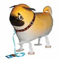 For Pug People :: My Own Pet Balloons Pug helium walking balloon.