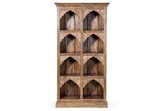 I LOVE the detailing on the shelves...    Nova Bookshelf on OneKingsLane.com