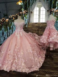 long prom dresses - Real Photos Off The Shoulder Luxury Long Train Lace Beaded Crystals Bow Wedding Dresses 2017 Bridal Dress Gown Pink Wedding Dresses Mature Bride Wedding Dresses Princess Ball Gown From Faisata, &Price; DHgate Com Pretty Quinceanera Dresses, Cute Prom Dresses, Pink Wedding Dresses, Xv Dresses, Princess Wedding Dresses, Ball Dresses, Bridal Dresses, Bow Wedding, Pink Ball Gowns