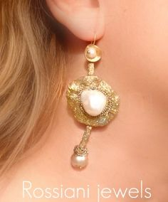 Materic pearl - Sablè line - Rossiani Jewels - Italian handmade jewels - Made in Italy