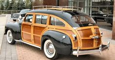 1941 Chrysler Town & Country Woody Station Wagon - MOTORIZED VEHICLES - Cars, Trucks, Bikes and more - Carzz - Station Wagon and Country