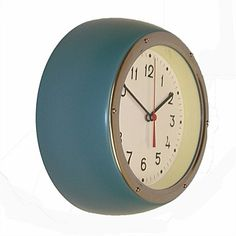 Room Décor & Home Accessories - Living & Giving - Zito's Retro Green Clock 170mm