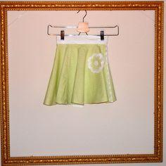 Polka Dot Circle Skirt 2T to 5T by restlessweaver on Etsy