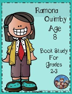 Ramona Quimby Age 8 Book Study is a complete unit to go along with the book Ramona Quimby Age 8. Your students will love reading about Ramona and her silly antics and they also will relate to her in so many ways. I have included some hands on vocabulary, sequence of events, and cause and effect activities.