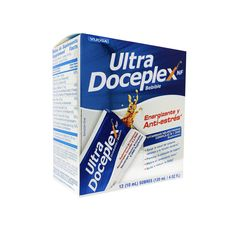 Ultra Doceplex Energy Pouches - Powerful B Complex in a Pouch - 12 Pouches Vitamin B Complex, Pouches, Vitamins, Free Shipping, Vitamin D