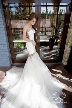 Sexy wedding dress wedding dress lace wedding by DressesLioness