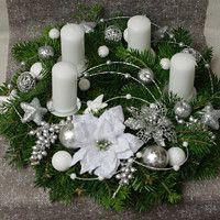Christmas Wreaths, Table Decorations, Holiday Decor, Christmas Decorations, Christmas, Dinner Table Decorations
