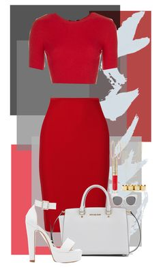 """""""9:12pm"""" by goldenhippy on Polyvore featuring Roland Mouret, Topshop, Michael Kors, Forever New, Blanc & Eclare, Brooks Brothers, The Limited and By Terry"""
