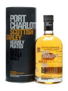Port Charlotte Scottish Barley is made from 100% Scottish-grown barley, peated to 40ppm which is then trickle distilled and combined with pure Islay spring water prior to bottling. An elegant, flor...