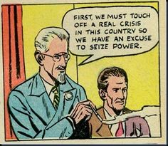 panel from Cold War era anti-Communist propaganda comic