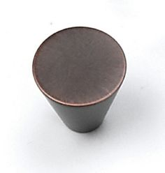 Laurey Cabinet Knobs, 3/4 inches Small Cone Knob-Venetian Bronze