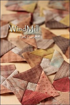 WindMill 1 @ Patchwork *Pink Caramel*: Windmill. A warm hue. . . ♪
