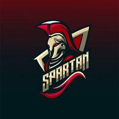 design by - Contact us if you need awesome logo. Logo Professionnel, Spartan Logo, Logo Process, Spartan Warrior, Game Logo Design, Esports Logo, Mundo Comic, Mascot Design, Professional Logo Design
