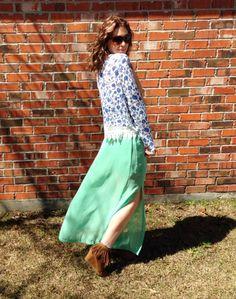 www.sweetmagnoliachic.com ootd, lotd, fashion, blog, fashion blogger, mint, blue