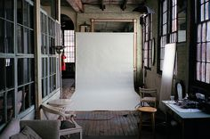 (photo by Sea Kay) Can we build a windowed wall in the gallery room?