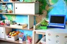 A peek into some of our Montessori Home Spaces  - how we montessori