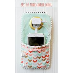 Craft Gossip - http://sewing.craftgossip.com/tutorial-easy-phone-charger-holder/2015/12/17/