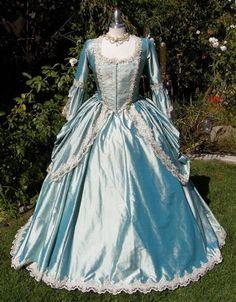 Sophie Gown- Silk Fantasy Marie Antoinette or Renaissance Gown
