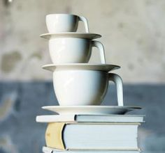 Stefan Lindfors for Iittala Ego Coffee Cups and Saucers