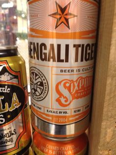 Bengali tiger from six point brewery