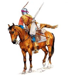 Zvonimir Grbasic - Arquero a caballo de Borgoña, 1475