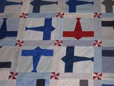 Billy's Airplane quilt