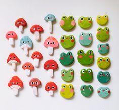 Mushroom Clay Friend! | jisoupy♡