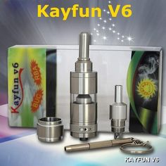 Kayfun V6 RDA Atomizer Sub 0.5ohm BUC RDA Coils Rebuildable Clearomizer Air Flow Control Fit Kbox VS Eleaf IStick 50W Horizon Arctic Coils from K281930785,$19.9 | DHgate.com http://www.dhgate.com/store/19518554#st-navigation-storehome