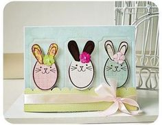 Easter Card - Bunnies